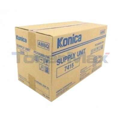 KONICA 7415 SUPPLY UNIT BLACK